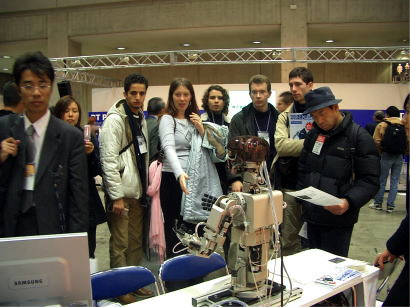 国際ロボット展2005